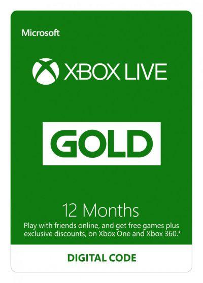 Abonament Xbox Gold na 12 miesięcy z oficjalnej dystrybucji za ok. 148 zł