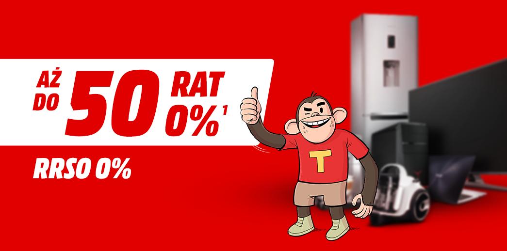 Raty do 50x0% Mediamarkt