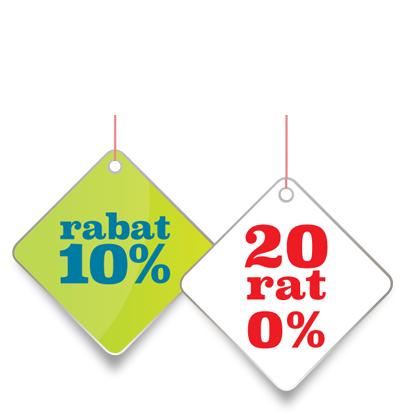 10% rabatu na meble i dodatki + 20 rat 0% @ Black Red White
