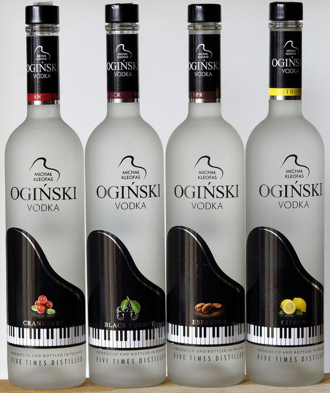 Wódka Ogiński smakowy 0,5l (Kaufland)