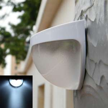 Lixada 6LEDs - Lampa (solar) naścienna, zewnętrzna