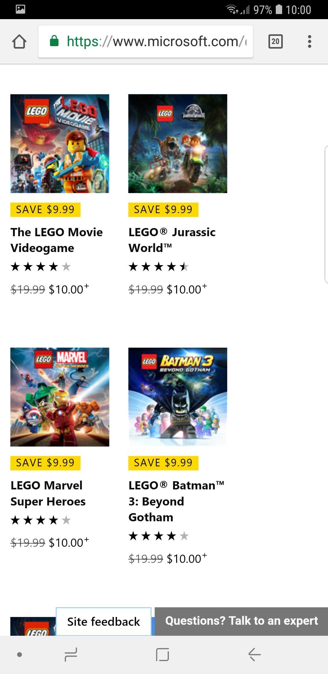 Gry Lego Xbox różne rodzaje.