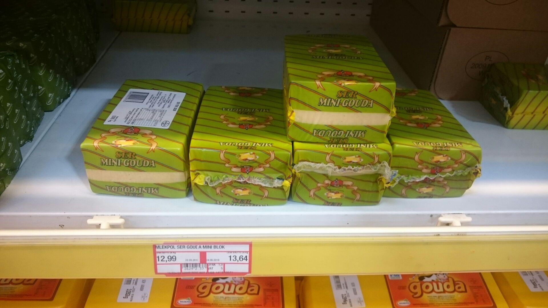 Ser żółty gouda Makro