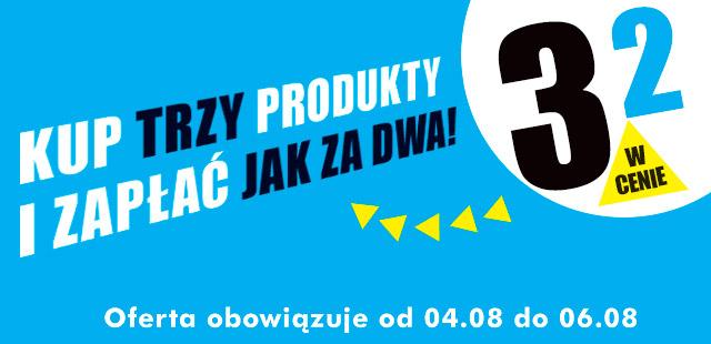 Trzy produkty w cenie dwóch @ Biedronka
