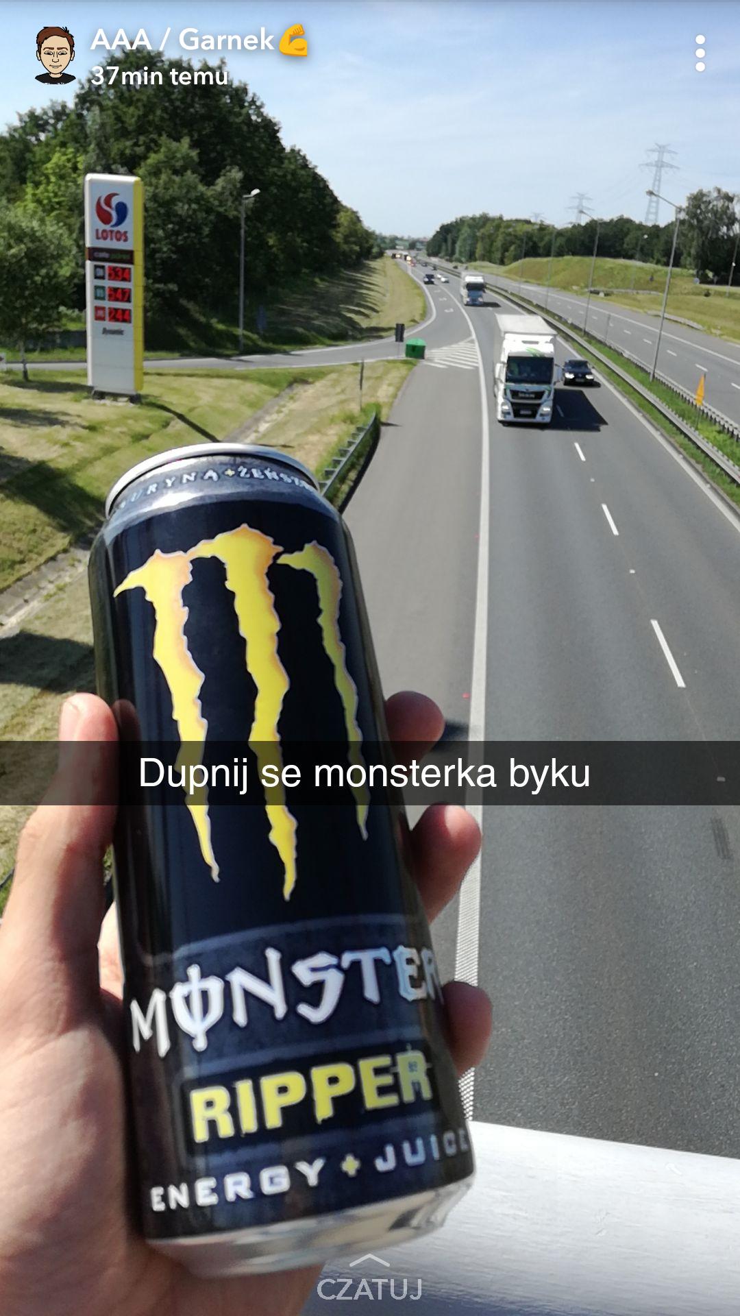 Monster Energy Drink 500ml Żabka WSZYSTKIE SMAKI