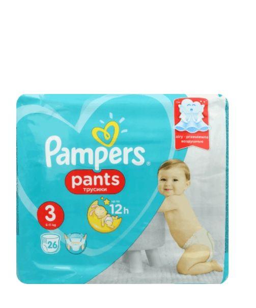 Pampers, Pants, pieluchomajtki, Midi 3, 6-11 kg, 26 szt