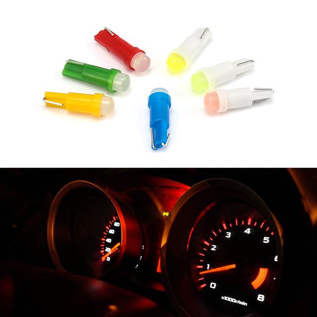 Żarówka LED T5 (różne kolory) @aliexpress