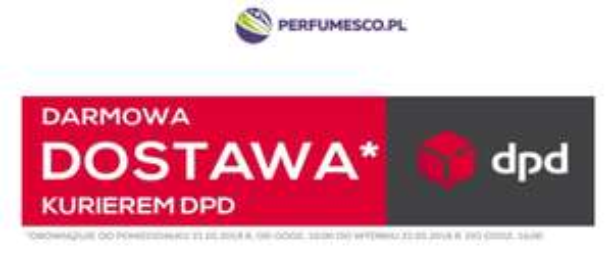 Darmowa dostawa PERFUMESCO