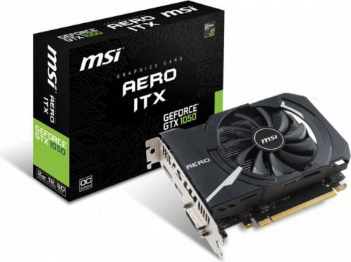 Karta graficzna MSI GeForce GTX 1050 Aero ITX OC 2GB GDDR5