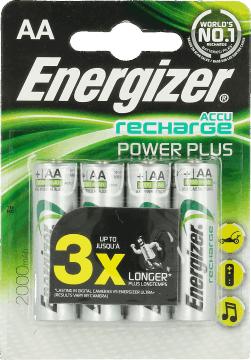 Akumulatorki AA Energizer Accu Recharge Power Plus 4szt. 2000mah @ Rossmann