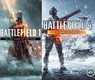 """PC PS4 Xbox """"Final Stand"""" i """"W imię cara"""" darmowe dodatki do Battlefield 4 i Battlefield 1"""