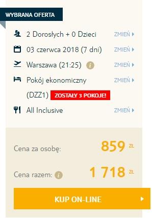 Turcja » Riwiera Turecka, wakacje all inc. za 859 zł (nie last minute)