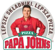 pizza XL za 29,90 zł oraz 50% OFF na każde zamówienie - nowy lokal Papa John's: ul. Grójecka, Warszawa