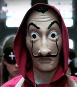 Maska Salvador Dali za niecałe 6zł @ Zapals