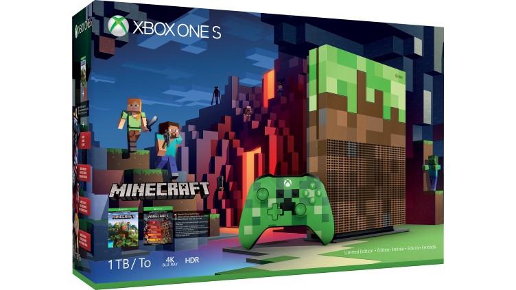 Limitowana wersja konsoli Xbox One S 1TB Minecraft + State of Decay 2 @ Microsoft.cz