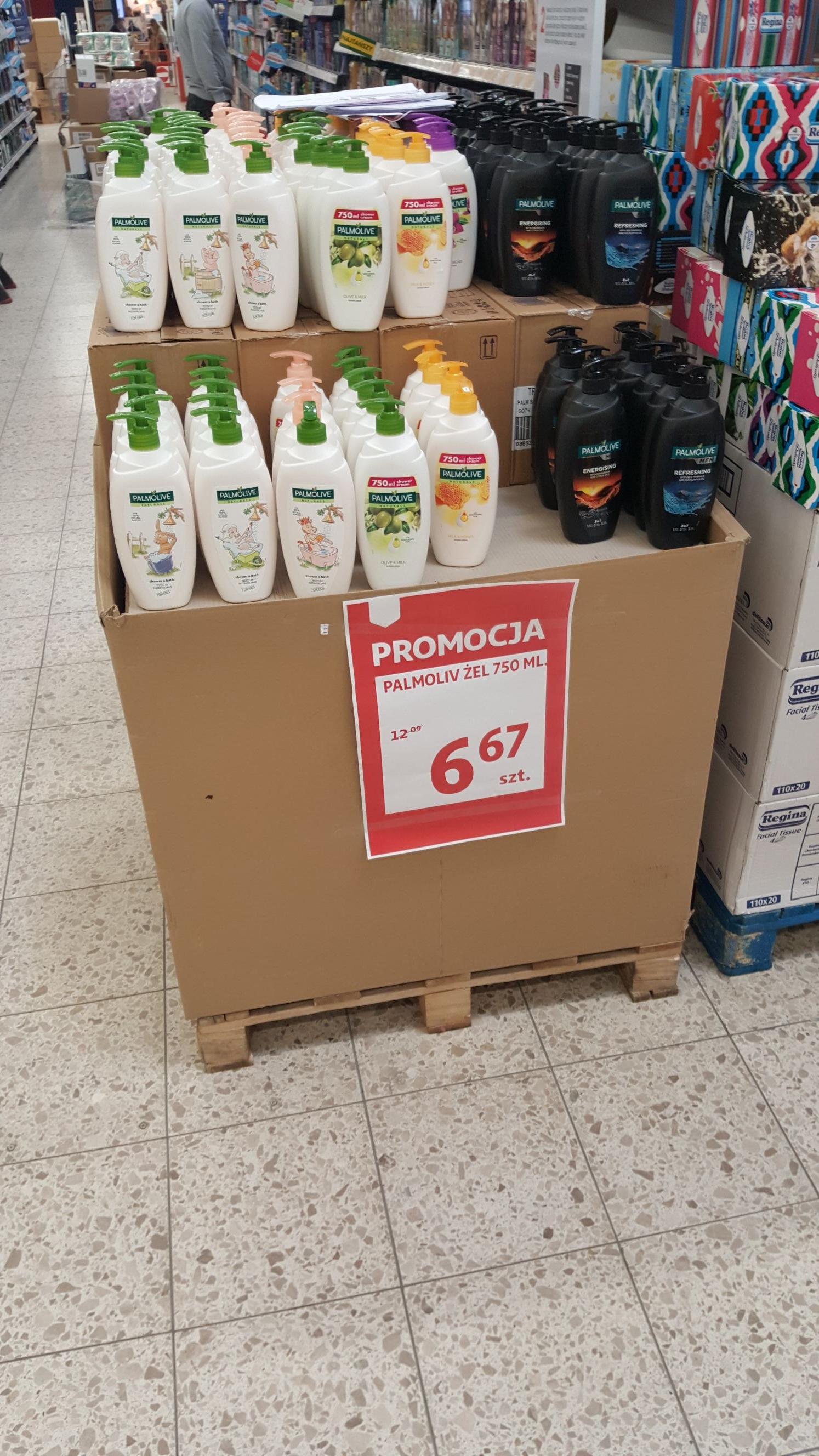 Żel pod prysznic Palmolive 750ml Auchan