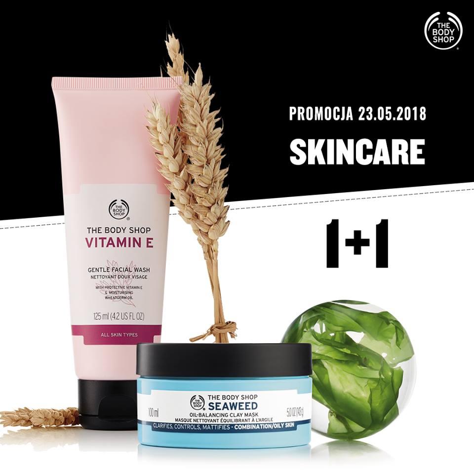 1+1 na kosmetyki do pielęgnacji twarzy @ The Body Shop