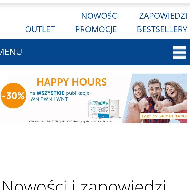 PWN -30% na wszystkie publikacje WN PWN I WNT