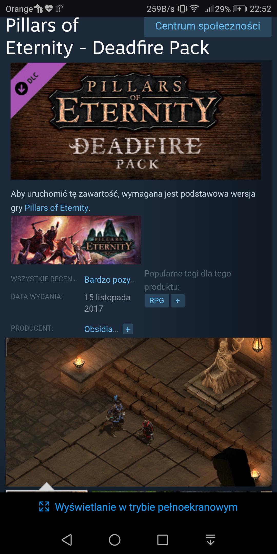 Pillars of Eternity - Deadfire Pack za darmo