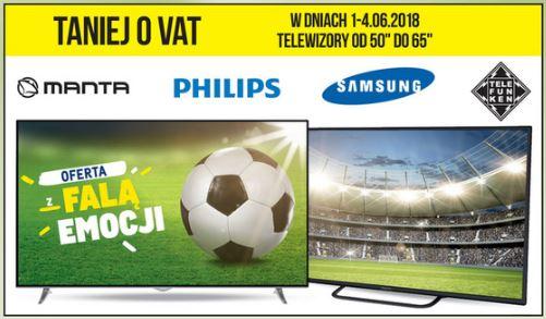 """TV 50-65"""" taniej o VAT @ Makro"""