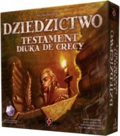 Dziedzictwo: Testament Diuka de Crecy - Gra Planszowa