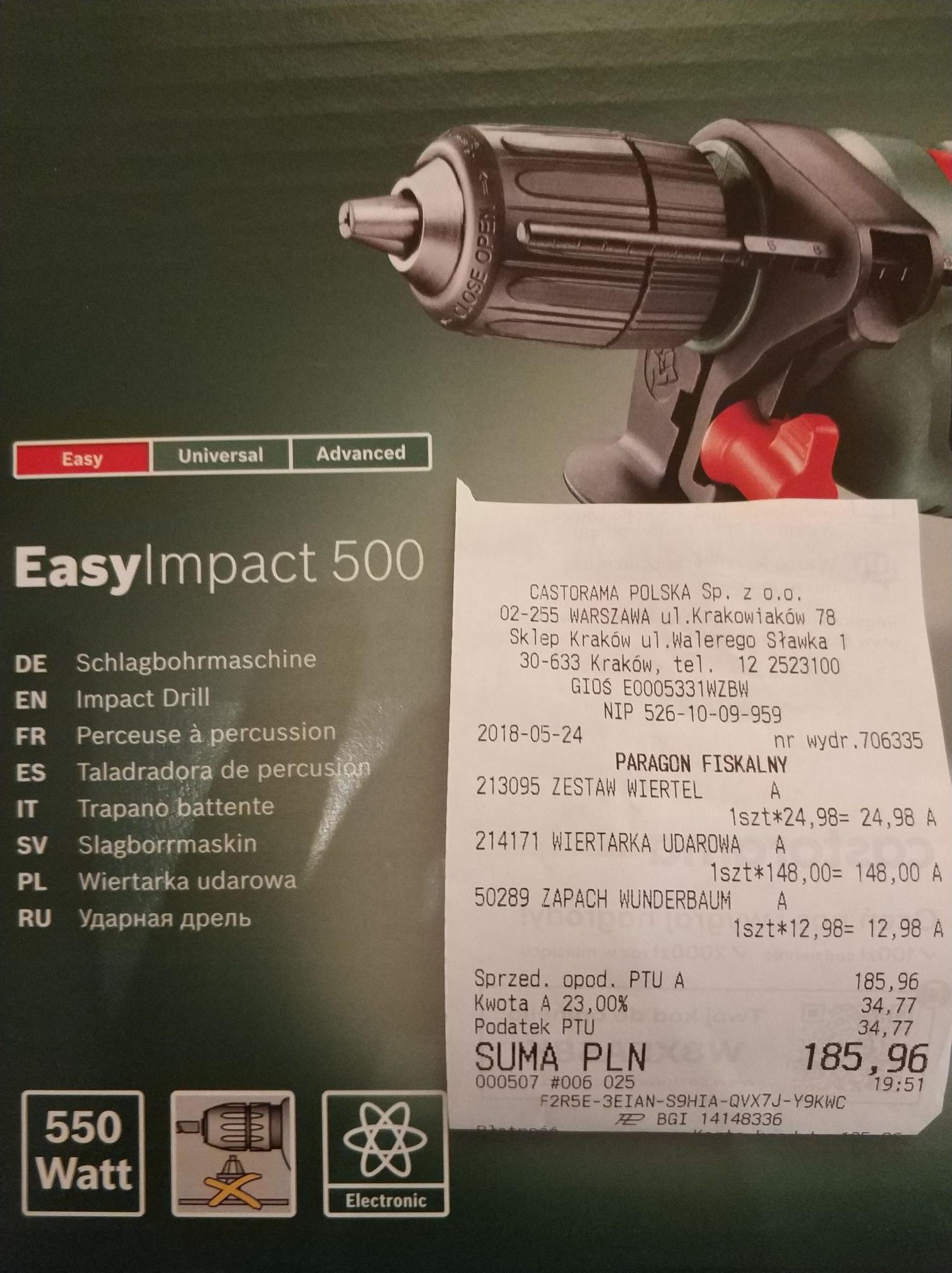 Wiertarka BOSCH Impact 500