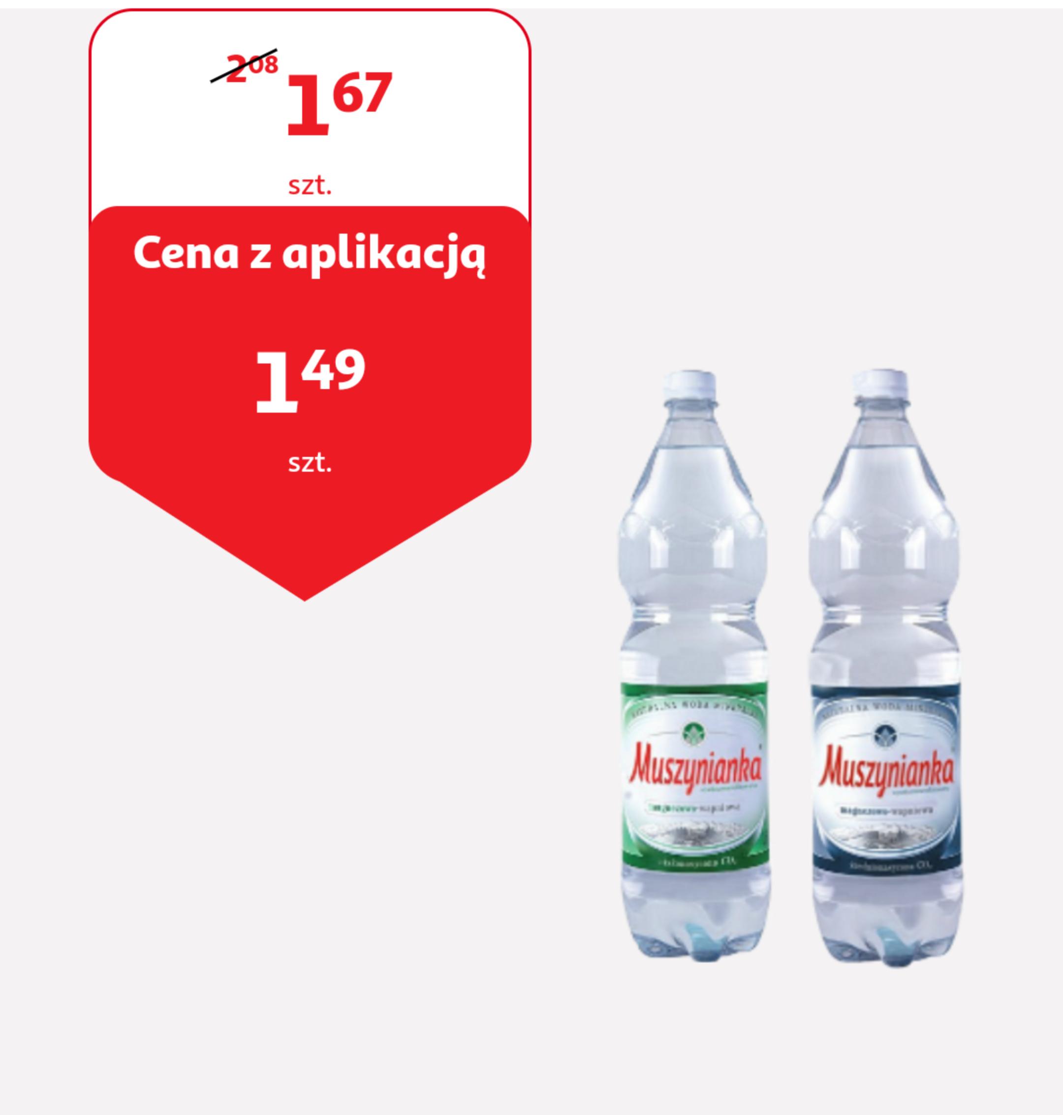 Muszynianka po 1,49 zł @ Auchan i Auchan Direct