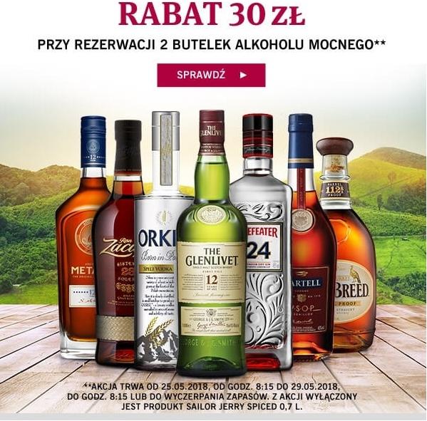 WinnicaLidla - Rabat 30 zł przy rezerwacji 2 butelek. Dobry alkohol w dobrych cenach :)
