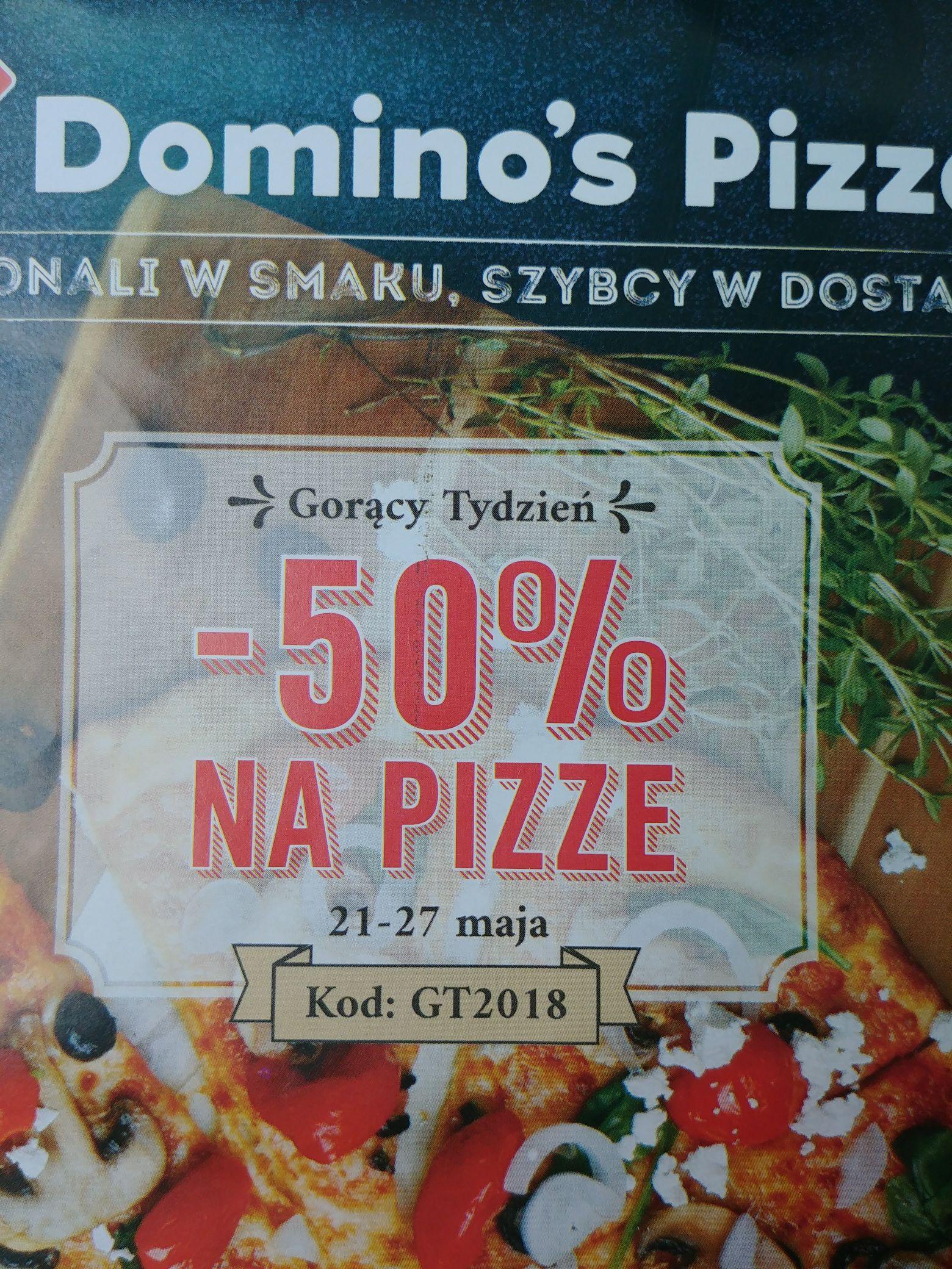 Domino's - 50% na pizzę Elbląg