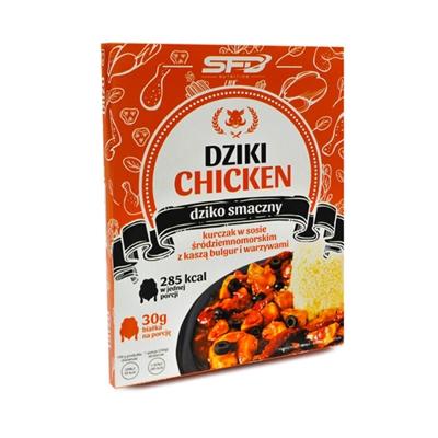 DZIKI CHICKEN - Dania gotowe (2 smaki) + Darmowa wysyłka