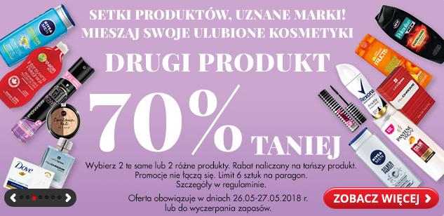 Drugi tańszy kosmetyk -70% taniej w Biedronce