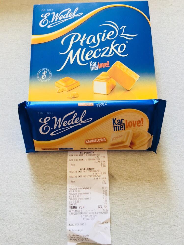 Ptasie mleczko E.Wedel różne smaki E.Leclerc