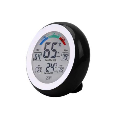 Dotykowy termometr i wilgotnościomierz