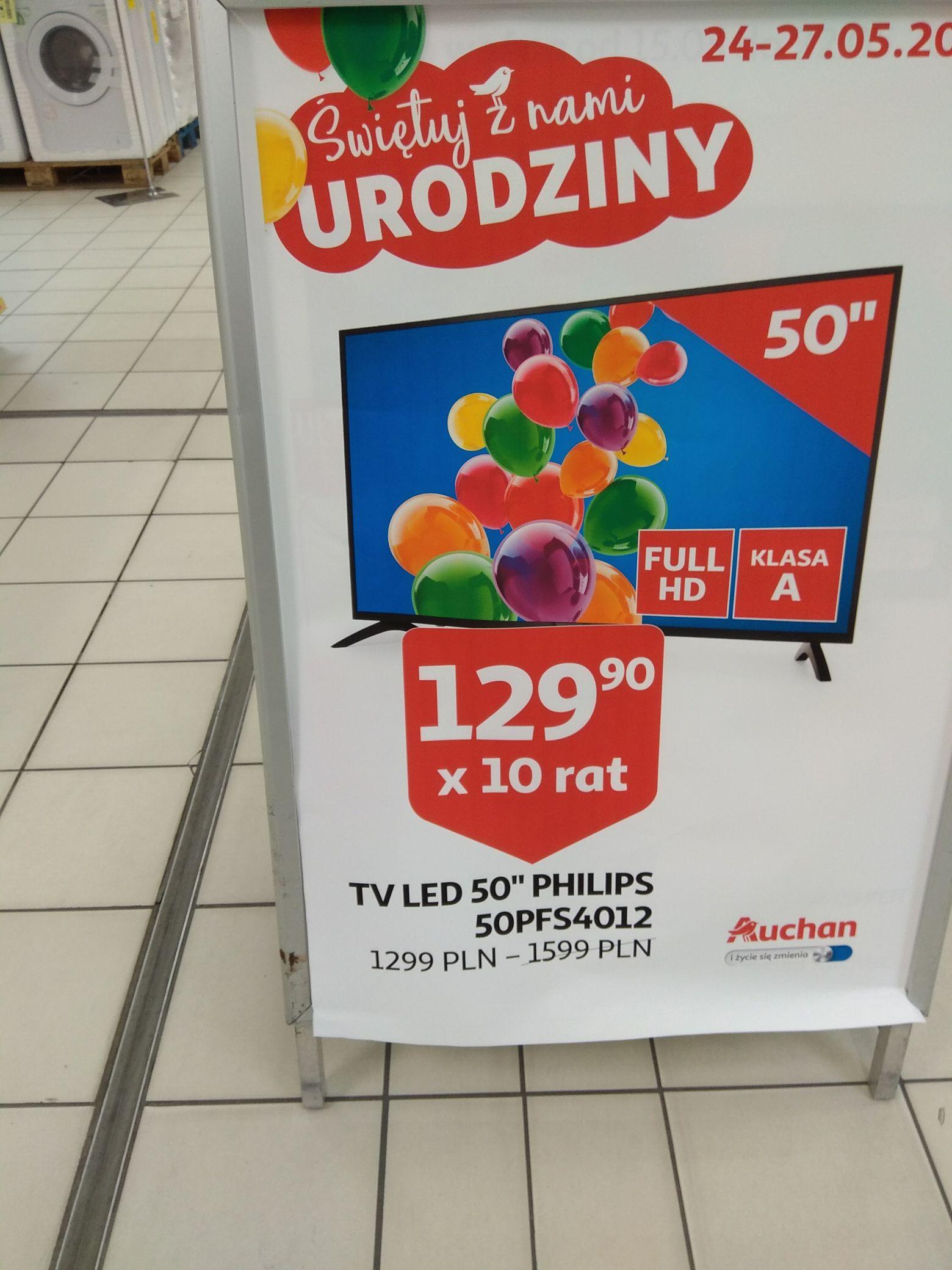 Telewizor Philips 50 Cali Auchan