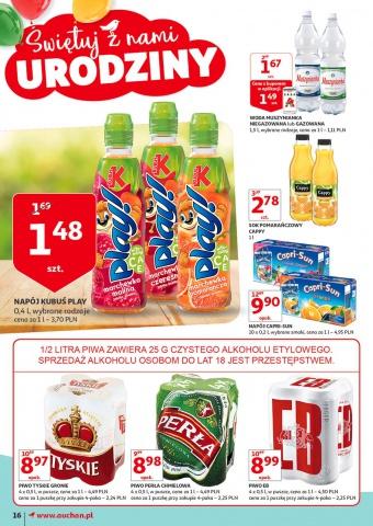 Cappy 1litr 2,78 zł Auchan do 3 czerwca