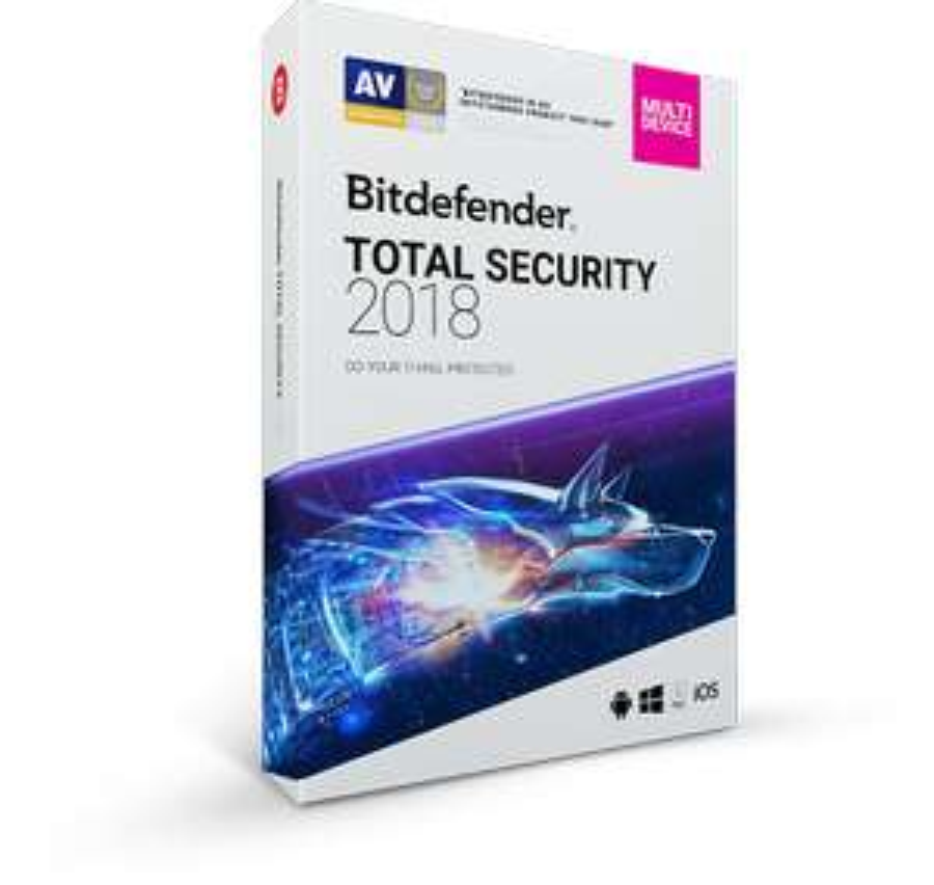 Bitdefender Total Security 2018 Free 6 Months Subscription