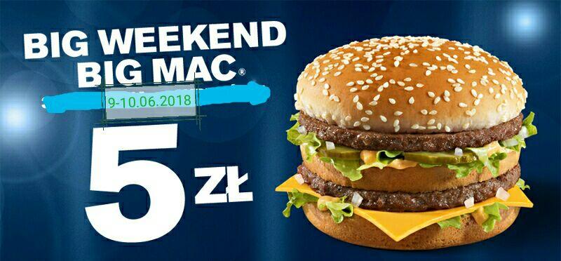 Big Mac za 5zł w McDonalds (ogólnopolska)