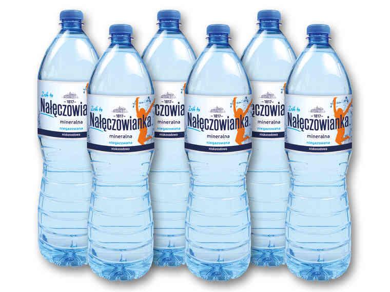 [Lidl] NAŁĘCZOWIANKA Woda mineralna 1,5 l (cena za 1szt. przy zakupie 6szt.)