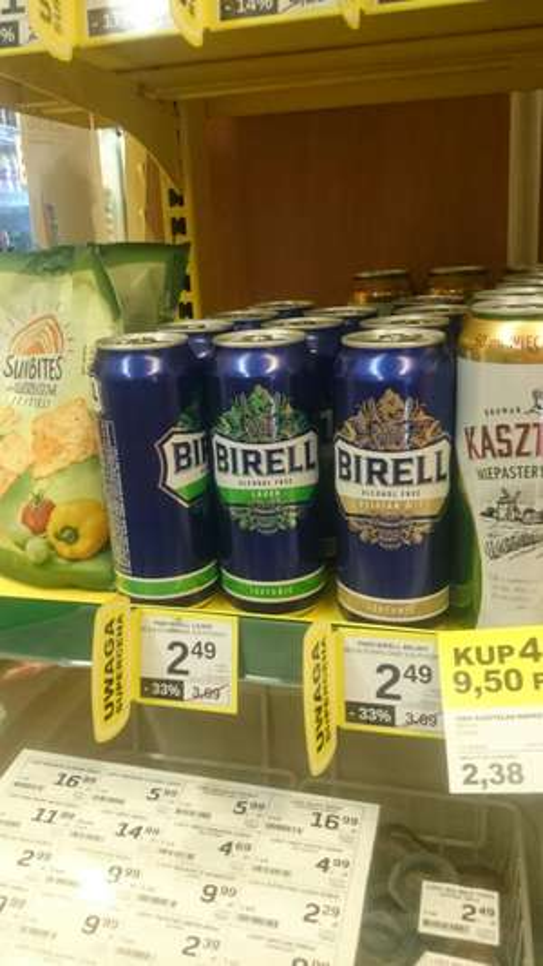 Żabka, bezalkoholowe piwo 0,5 l
