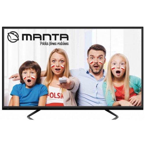 TV 4K  55 cali MANTA 55LUN57T + Głośnik Bluetooth + Radiobudzik :)