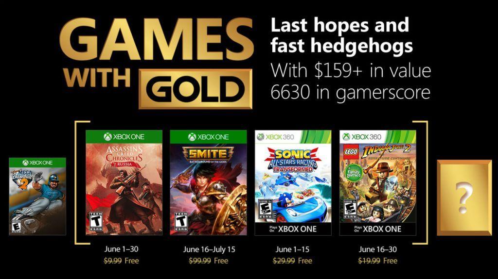 Games with Gold czerwiec 2018 Xbox One i Xbox 360