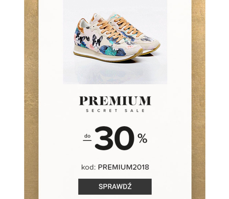 Do -30% na marki premium na eobuwie.pl