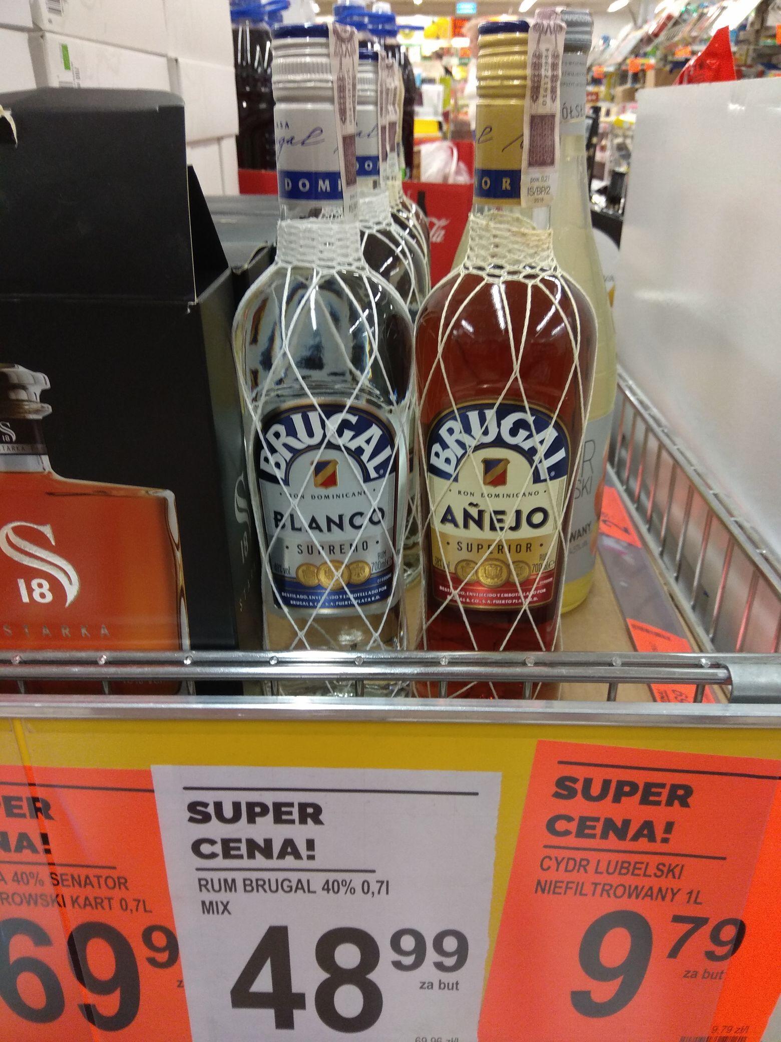 Rum Brugal 0,7 Biedronka