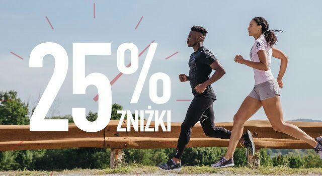 25% znizki w sklepie internetowym www.reebok.pl