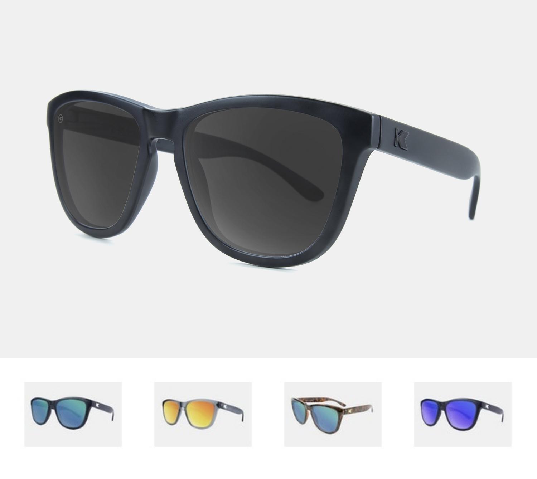 Okulary przeciwsłoneczne Knockaround Premiums - polaryzacja, 10 modeli wayfarer