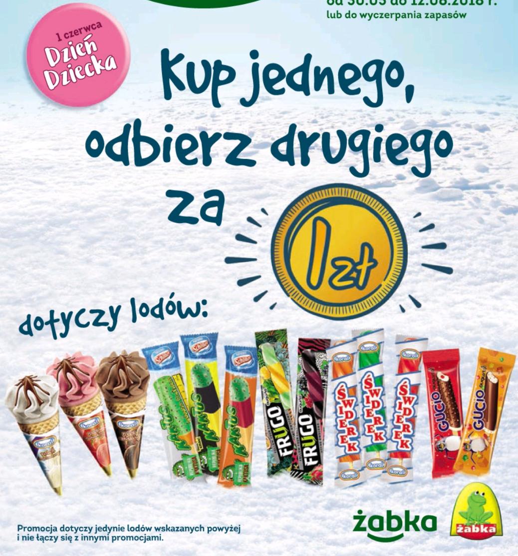 drugi lód za 1 zł @ Żabka