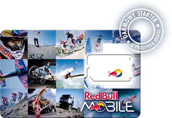 Darmowy starter Red Bull Mobile z darmową przesyłką i 1GB Internetu @ Play