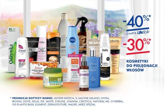 40% rabatu na kosmetyki do pielęgnacji włosów @ Super-Pharm