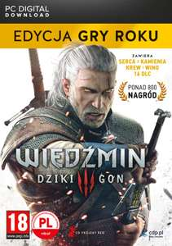 Wiedźmin 3: Dziki Gon - Edycja Gry Roku (ze wszystkimi dodatkami) [PC, GOG] @ Wirtus