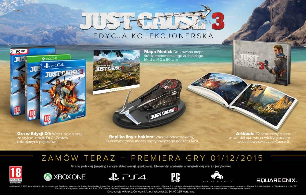 Just Cause 3 Edycja kolekcjonerska PS4